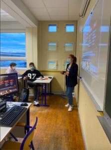 Intervention classe de Terminale, Lycée Édouard Belin, Vesoul