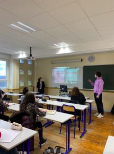 Intervention classe de Première, Lycée Édouard Belin, Vesoul